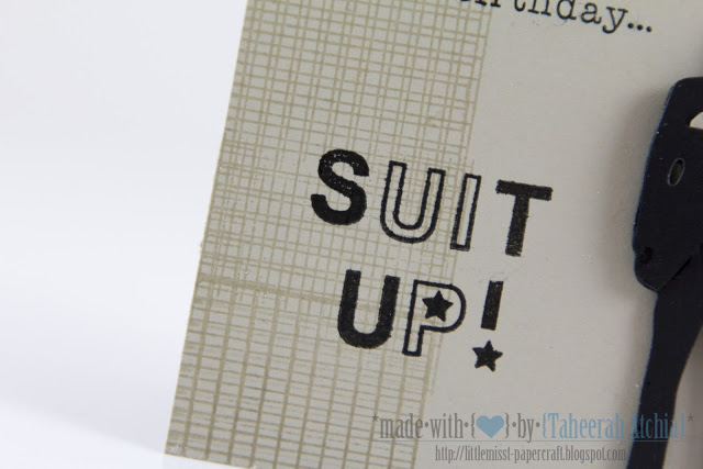 Suit-Up! 'How I Met Your Mother'-Inspired Birthday card by Taheerah Atchia