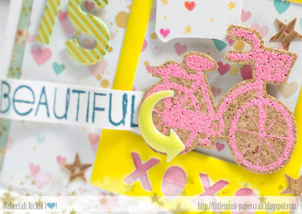 Life is Beautiful Bicycle Card by Taheerah Atchia
