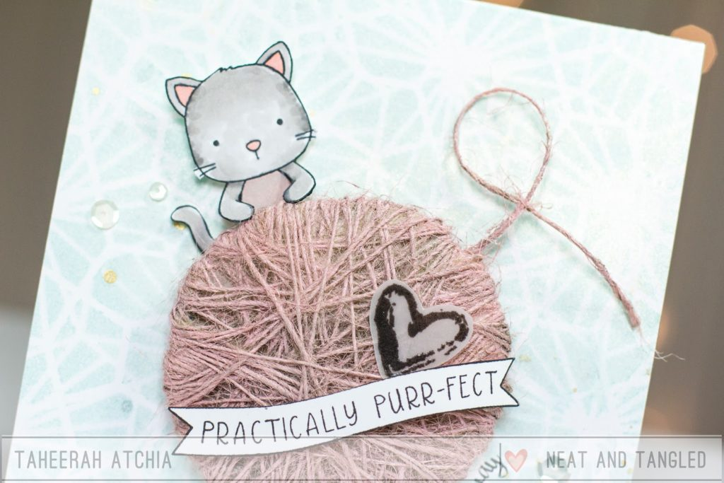 Practically Purr-fect Card by Taheerah Atchia